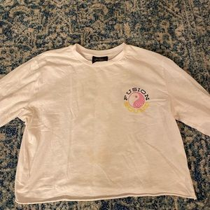 Funky Cropped Tee!